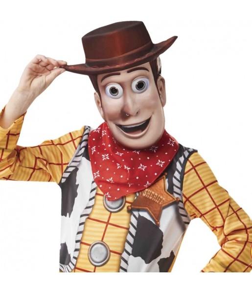 Maschera Woody Toy Story per poter completare il tuo costume Halloween e Carnevale
