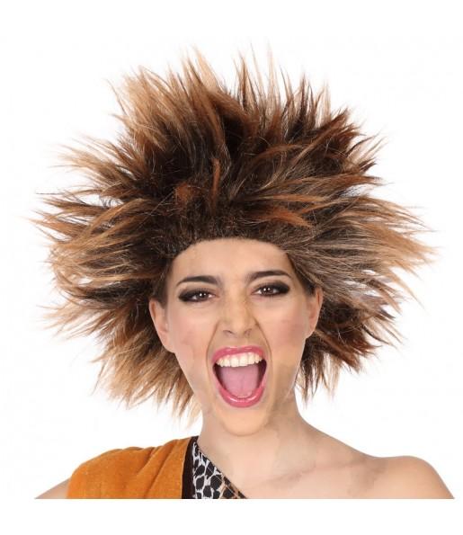 La più divertente Parrucca donna delle caverne per feste in maschera