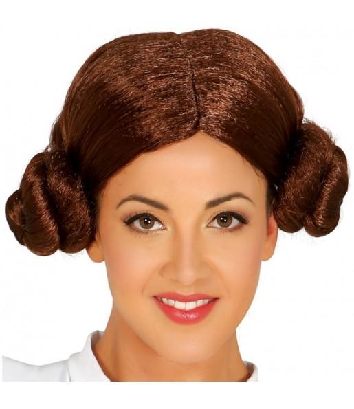 La più divertente Parrucca principessa Leia per feste in maschera