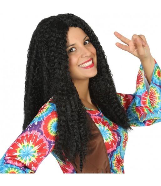 La più divertente Parrucca donna hippie per feste in maschera