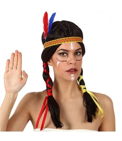 La più divertente Parrucca indiana per feste in maschera