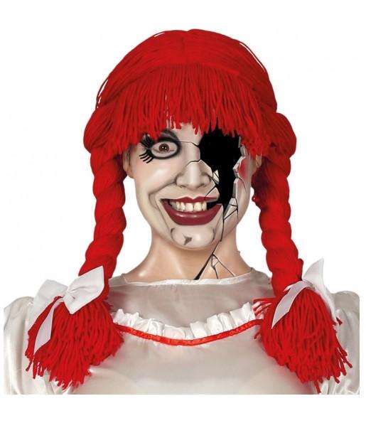 La più divertente Parrucca lana rossa per feste in maschera