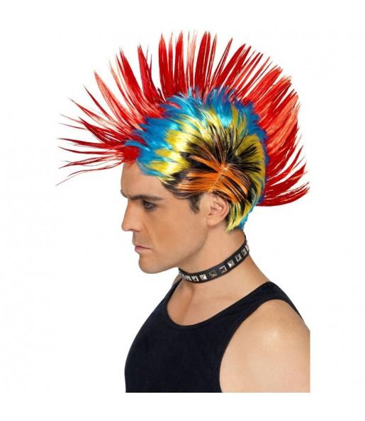 La più divertente Parrucca punk anni '80 per feste in maschera