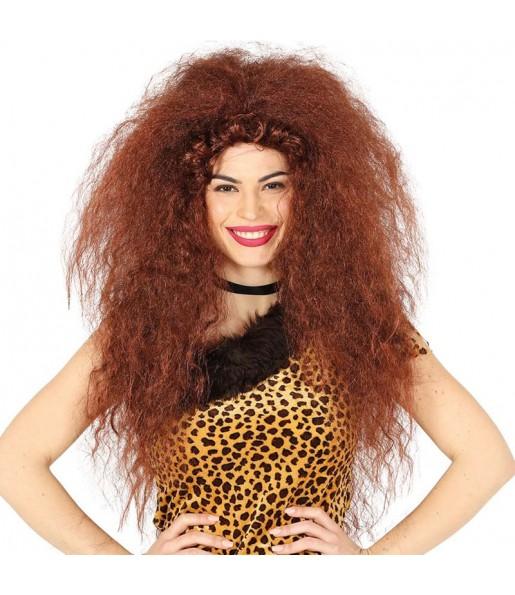 La più divertente Parrucca troglodita per donna per feste in maschera