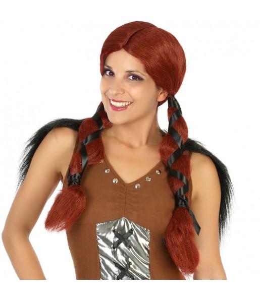 La più divertente Parrucca vichinga norrena per feste in maschera