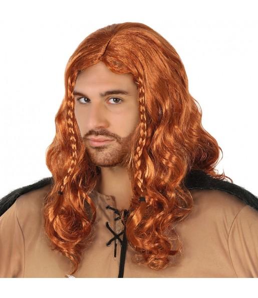 La più divertente Parrucca nordica vichinga per feste in maschera
