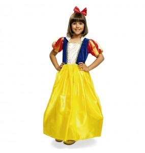 Travestimento Principessa Biancaneve bambina che più li piace