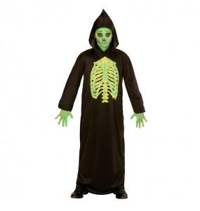 Travestimento Morte tossica bambini per una festa ad Halloween