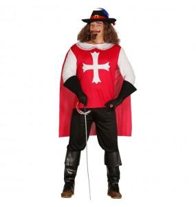 Travestimento Moschettiere D'Artagnan adulti per una serata in maschera