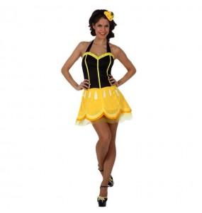 Travestimento limonata donna per divertirsi e fare festa