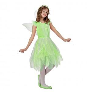 Travestimento fata verde bambina che più li piace