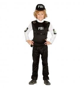 Travestimento Polizia FBI bambino che più li piace
