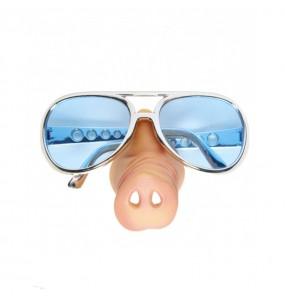 I più divertenti Occhiali naso di maiale per feste in maschera