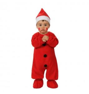 Travestimento Babbo Natale rosso neonato che più li piace