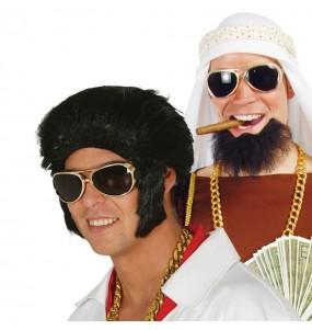 I più divertenti Occhiali King of Rock per feste in maschera