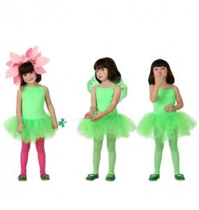 Travestimento Ballerina - Verde bambina che più li piace