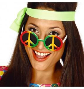 I più divertenti Occhiali hippy per feste in maschera