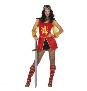 Travestimento Regina medievale sexy donna per divertirsi e fare festa del Medievo