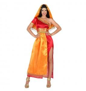 Travestimento Indù Bollywood donna per divertirsi e fare festa