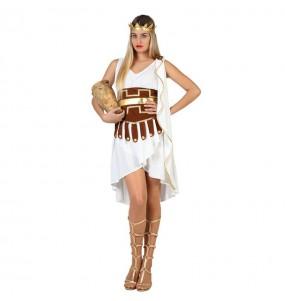 Travestimento Imperatrice Romana donna per divertirsi e fare festa