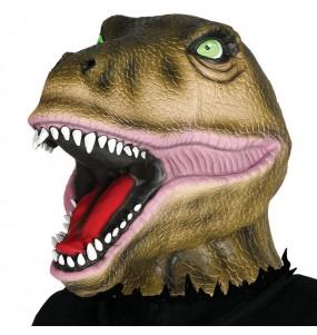 Maschera dinosauro per poter completare il tuo costume Halloween e Carnevale