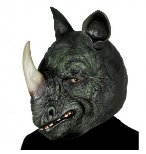 Maschera Rhino per poter completare il tuo costume Halloween e Carnevale