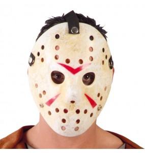 Maschera hockey Horror Maschera da hockey per poter completare il tuo costume Halloween e Carnevale
