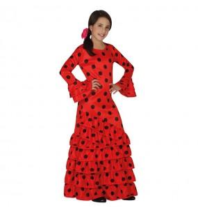 Travestimento Flamenca rosso bambina che più li piace