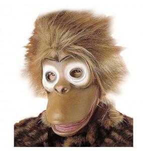 Maschera Scimmia Scimpanzé per poter completare il tuo costume Halloween e Carnevale