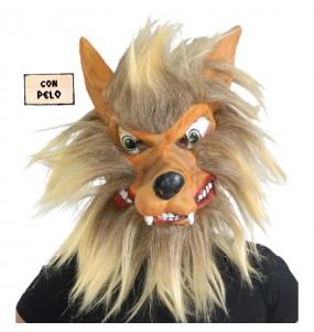 Maschera lupo per poter completare il tuo costume Halloween e Carnevale