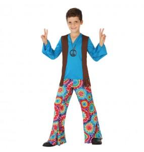 Travestimento Hippie Flower bambino che più li piace