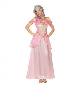 Travestimento Principessa Belle addormentata donna per divertirsi e fare festa