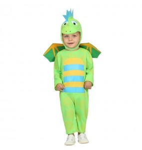 Travestimento Drago Verde neonato che più li piace