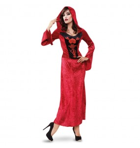 Costume Vampira Rossa donna per una serata ad Halloween