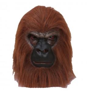 Maschera Gorilla per poter completare il tuo costume Halloween e Carnevale