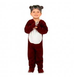 Travestimento Orso marrone bambino che più li piace