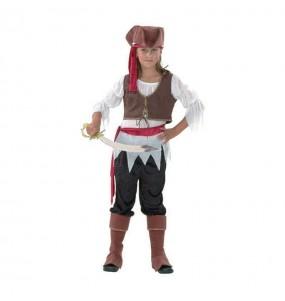 Travestimento Pirata bucaniere bambina che più li piace