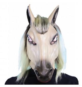 Maschera cavallo economici per poter completare il tuo costume Halloween e Carnevale