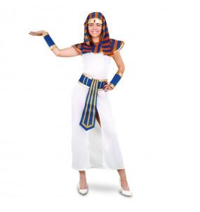Travestimento Faraonessa d'Egitto donna per divertirsi e fare festa