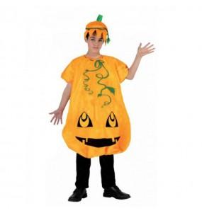 Travestimento Zucca bambini per una festa ad Halloween