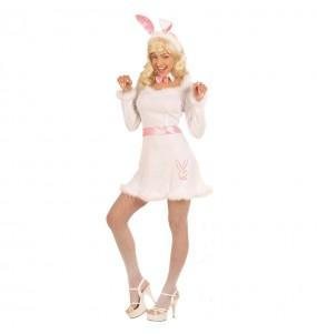 Travestimento Coniglietta Play Boy donna per divertirsi e fare festa