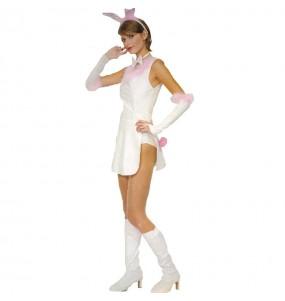 Travestimento Coniglietta sexy donna per divertirsi e fare festa