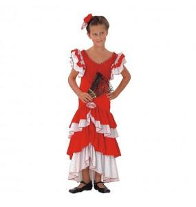 Travestimento Sevillana Flamenca bambina che più li piace