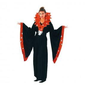 Costume Spiderella donna per una serata ad Halloween