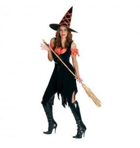 Costume Strega Halloween donna per una serata ad Halloween