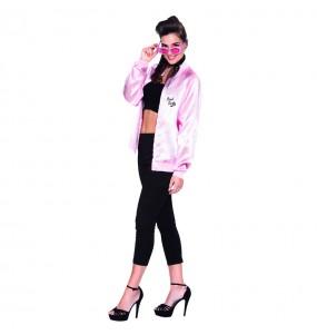 Travestimento Grease Giacca Pink Ladies donna per divertirsi e fare festa