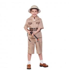 Travestimento Esploratore di safari bambino che più li piace