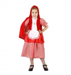 Travestimento Petit Cappuccetto Rosso economico bambina che più li piace