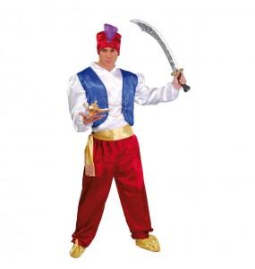 Travestimento Guerriero arabo Aladdin adulti per una serata in maschera