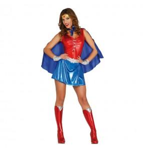 Travestimento Wonder Woman donna per divertirsi e fare festa